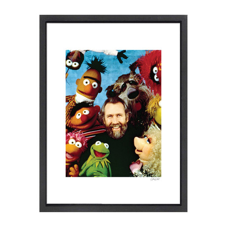 """Jim Henson + The Muppets // Great Moments in History (12""""W x 16""""H x 2""""D)"""