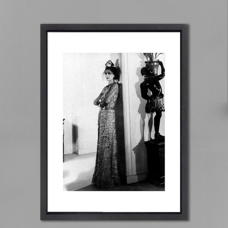 """Coco Chanel // Great Moments in History (12""""W x 16""""H x 2""""D)"""