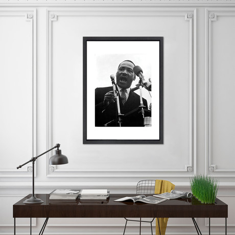 """Martin Luther King Jr. // Great Moments in History (12""""W x 16""""H x 2""""D)"""