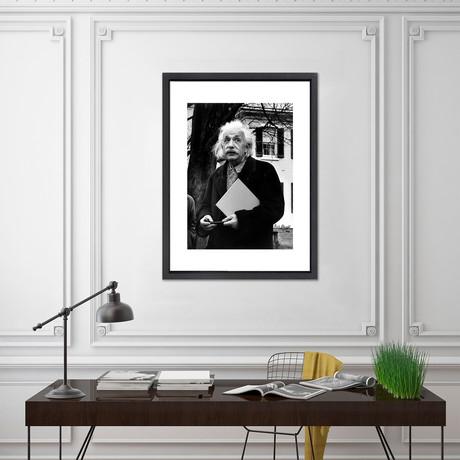 "Albert Einstein // Great Moments in History (12""W x 16""H x 2""D)"