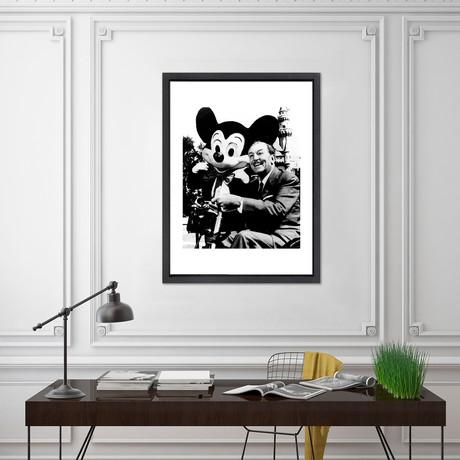 "Walt Disney // Great Moments in History (12""W x 16""H x 2""D)"