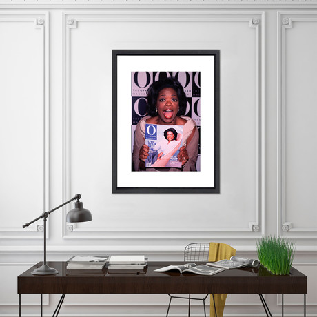 """Oprah // Great Moments in History (12""""W x 16""""H x 2""""D)"""