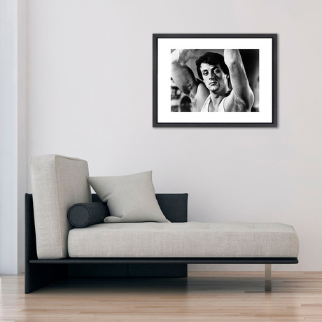 """Sylvester Stallone // Great Moments in History (12""""W x 16""""H x 2""""D)"""