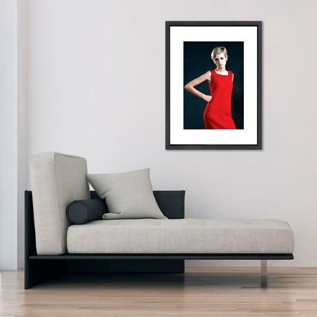 """Twiggy // Great Moments in History (12""""W x 16""""H x 2""""D)"""