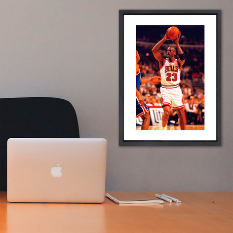 "Michael Jordan // Great Moments in History (12""W x 16""H x 2""D)"