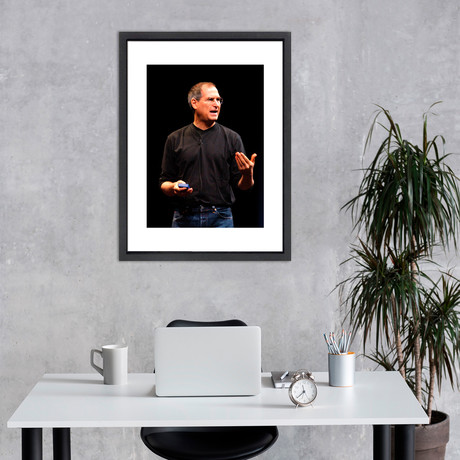 """Steve Jobs // Great Moments in History (12""""W x 16""""H x 2""""D)"""
