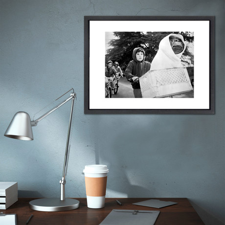 """E.T. // Great Moments in History (12""""W x 16""""H x 2""""D)"""