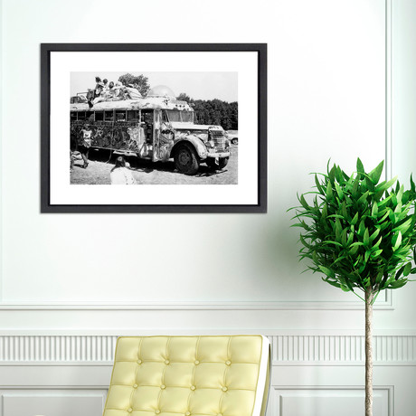"""Woodstock Transport // Great Moments in History (12""""W x 16""""H x 2""""D)"""