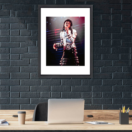 """Michael Jackson // Great Moments in History (12""""W x 16""""H x 2""""D)"""