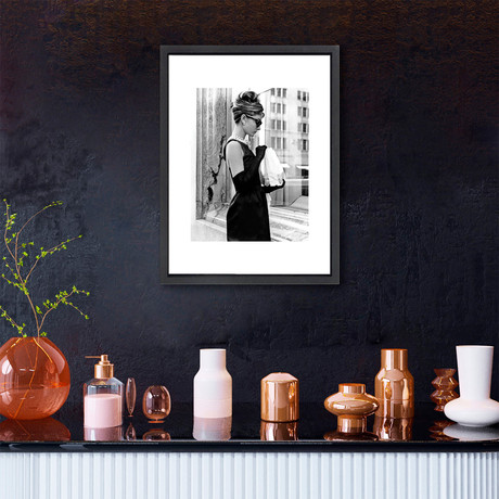 """Breakfast at Tiffany's // Great Moments in History (12""""W x 16""""H x 2""""D)"""