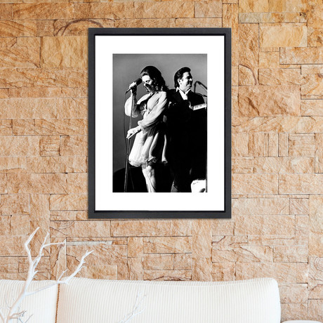 """Johnny Cash + June Carter // Great Moments in History (12""""W x 16""""H x 2""""D)"""