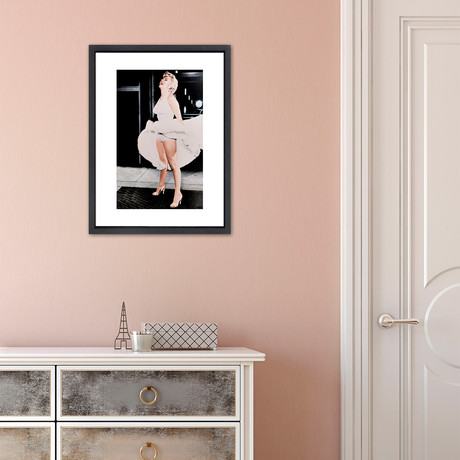 """Marilyn Monroe // Great Moments in History (12""""W x 16""""H x 2""""D)"""