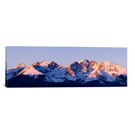 "Rocky Mountain Range // Dan Ballard (36""W x 12""H x 0.75""D)"