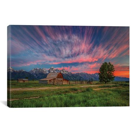 """Beneath Teton Glory // Bill Sherrell (26""""W x 18""""H x 0.75""""D)"""