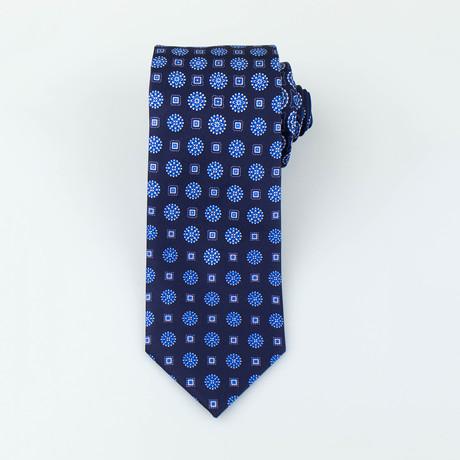 Tanner Silk Tie // Blue