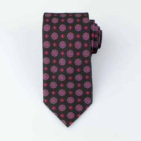 Hall Silk Tie // Black