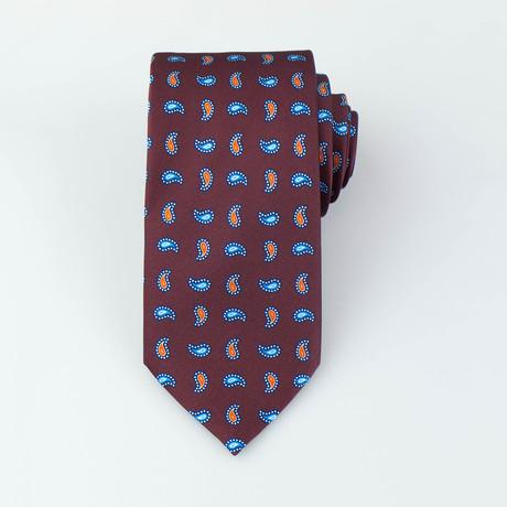 Proctor Silk Tie // Brown
