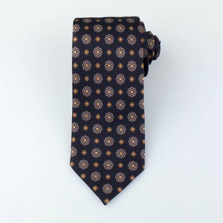 Saunders Silk Tie // Black