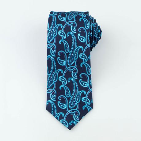 Elliott Silk Tie // Teal
