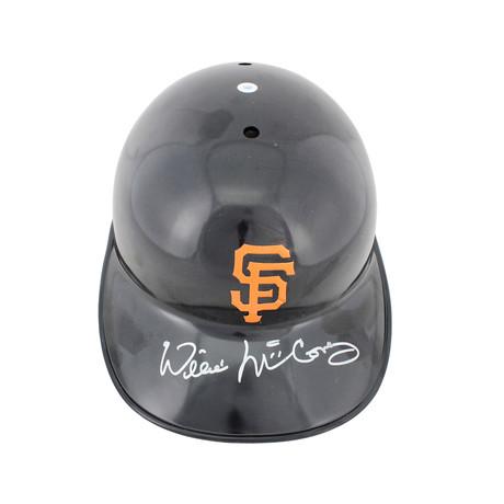 Signed Full Size Batting Helmet // Giants Willie McCovey