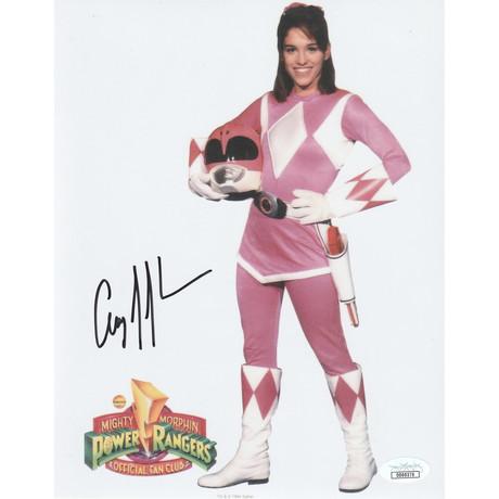 """Signed Photo // Power Rangers """"Kimberly"""" // Amy Jo Johnson"""