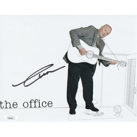 """Signed Photo // The Office """"Creed"""" // Creed Bratton"""
