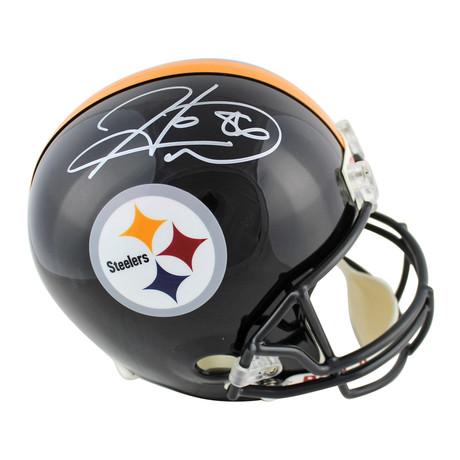 Signed Full Size Rep Helmet // Steelers Hines Ward