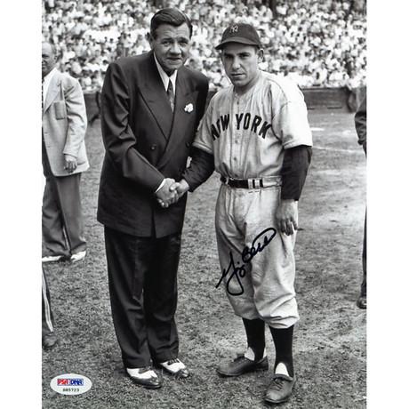 Signed Photo // Yankees Yogi Berra