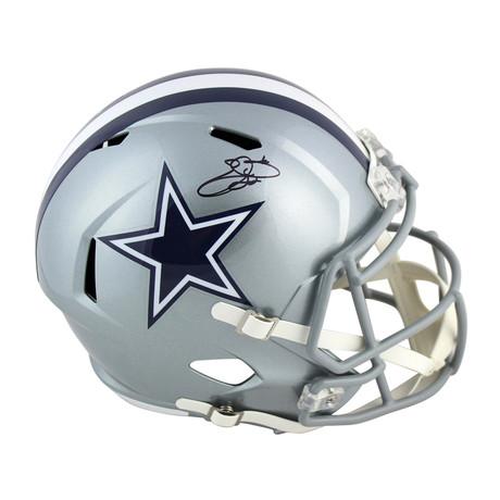 Signed Full Size Speed Rep Helmet // Cowboys Emmitt Smith