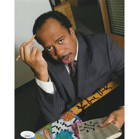 "Signed Photo // The Office ""Stanley Hudson"" // Leslie David Baker"