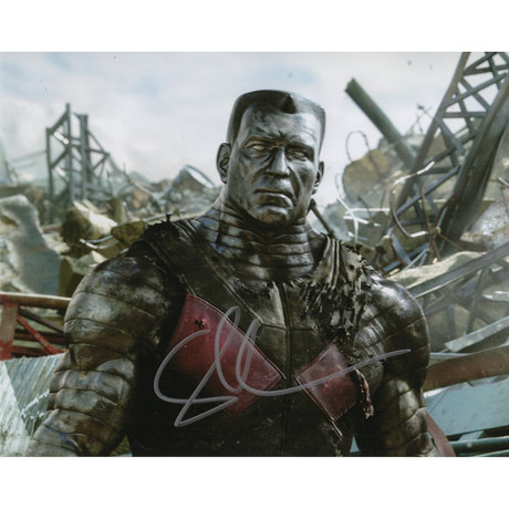 "Signed Photo // Deadpool ""Colossus"" // Stefan Kapicic"