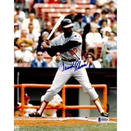 Signed Photo // Orioles Frank Robinson