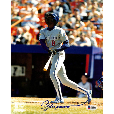 Signed Photo // Cubs Andre Dawson