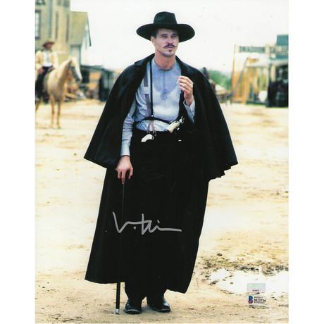 """Signed Photo // Tombstone """"Doc Holliday"""" // Val Kilmer"""