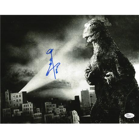 "Signed Photo // Godzilla ""Original Godzilla"" // Haruo Nakajima"