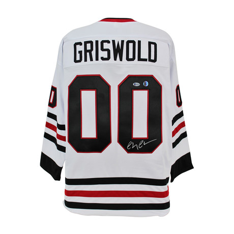 """Signed Jersey // National Lampoon's Christmas Vacation """"Clark Griswold"""" // Chevy Chase"""