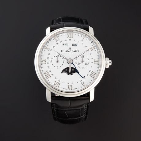 Blancpain Villeret Chronographe Monopoussoir Complete Calendar Automatic // 6685-1127-55B // Pre-Owned
