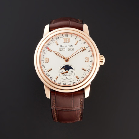 Blancpain Leman Moonphase Complete Calendar Automatic // 3563A-3642-53B // Pre-Owned