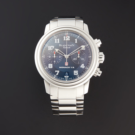 Blancpain Leman Flyback Chronograph Monaco Automatic // 2182F-1140M-71 // Pre-Owned
