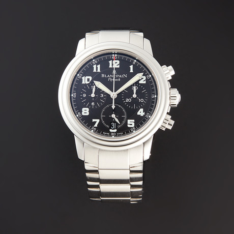 Blancpain Leman Flyback Chronograph Automatic // 2185-1130-63 // Pre-Owned