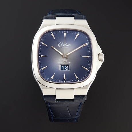 Glashutte Original Seventies Panorama Date Automatic // 2-39-47-13-12-04 // Pre-Owned