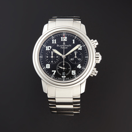 Blancpain Leman Flyback Chronograph Automatic // 2185F-1130-71 // Pre-Owned