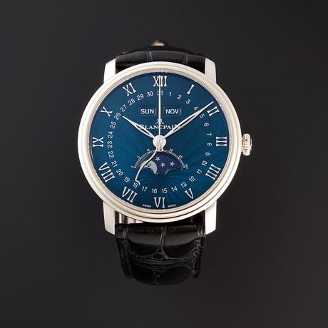 Blancpain Villeret Quantieme Complet Automatic // 6654-1529-55B // Pre-Owned