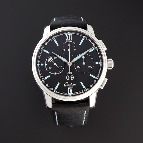 Glashütte Original Senator Chronograph Panorama Date Automatic // 37-01-03-02-35 // Pre-Owned