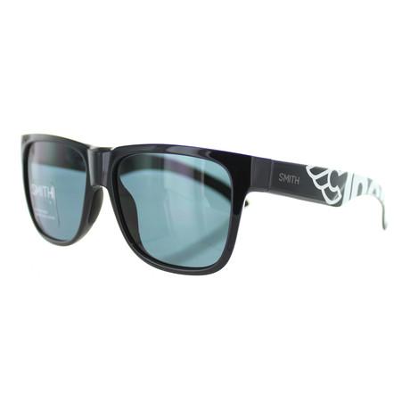 Smith // Unisex Square Sunglasses // Black