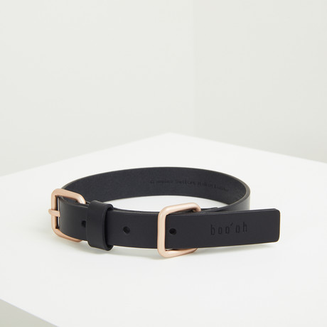 Lumi Collar // Gold + Black (Small)