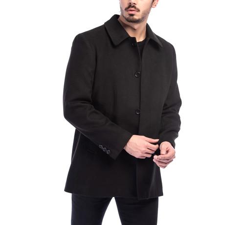 Rome Overcoat // Black (Medium)