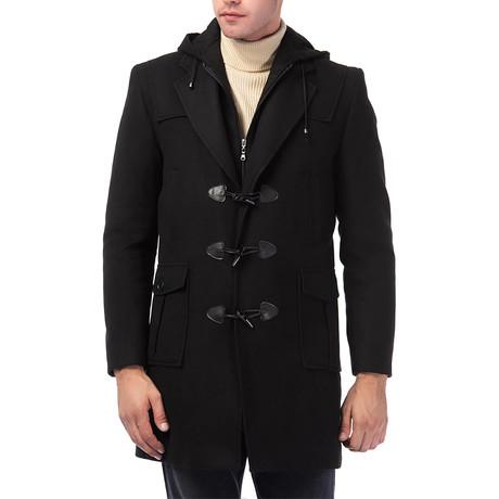 PLT8373 Overcoat // Black (S)