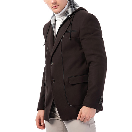Elias Overcoat // Brown (Small)