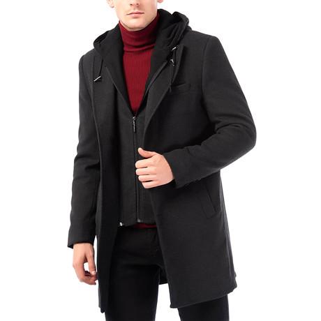 PLT8331 Overcoat // Anthracite (S)